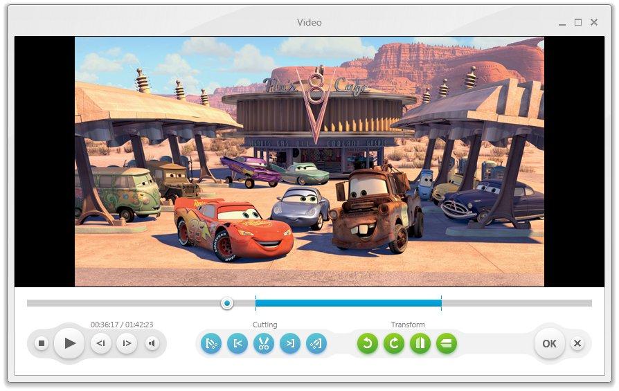 Freemake Video Converter - Video Editor window